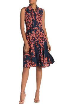 Desk to Dinner: Fall Dresses Incl. Plus & Petites Pleated Bodice, Nanette Lepore, Shopping Websites, Fall Dresses, Nordstrom Dresses, Floral Prints, Naked, Desk, Dinner