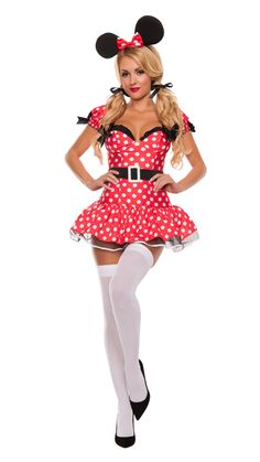 95125448b191 Starline Fun Mouse Costume Women's Costume - Nastassy Sexy Halloween  Costumes, Adult Costumes, Costumes