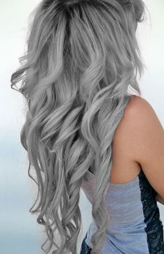 Grey Hair! I will have one day!