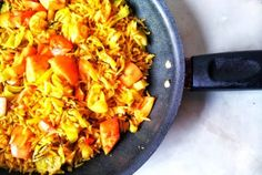 Vegetarian Recipe: Meat Free Monday's Curried Eggs with Turmeric Rice