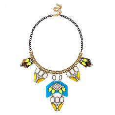 "Sole Society ""Pendant Stone Necklace"", $Array"