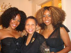 Madame CJ Walker's GG Granddaughter, A'leila Bundles with Miss Jessie's Granddaughter's, Miko and Titi Branch at The MJ Soho Salon Opening!