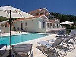 Holiday Villa in Arillas, Corfu, Greek Islands, Greece GR3586