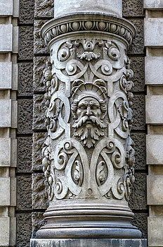 Beautiful Decoration On A Building Facade In Vienna, Austria by Elenarts - Elena Duvernay photo French Trip, Travel Around Europe, Framed Prints, Canvas Prints, Building Facade, Famous Places, Fine Art America, Photo Art, Lion Sculpture
