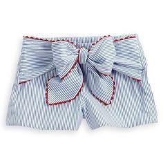 Toddler Fashion, Baby Girl Fashion, Kids Fashion, Short Niña, Short Girls, T Shirt Sewing Pattern, Kids Shorts, Little Girl Dresses, Sewing For Kids