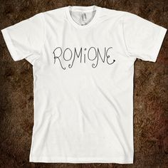 Romione. Is this a Very Potter Musical reference? I need to watch that.
