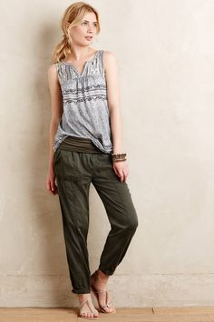 Anthropologie's New Arrivals: Pants - Topista #anthrofave