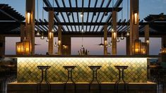 Maya Modern Mexican Kitchen + Lounge: Rooftop Bar