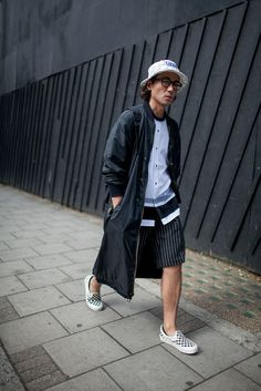 London Men's Fashion Week street style