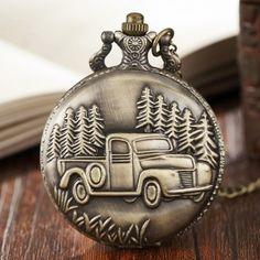 Pocket Watch, Bronze, Watches, Accessories, Wristwatches, Clocks, Pocket Watches, Jewelry Accessories