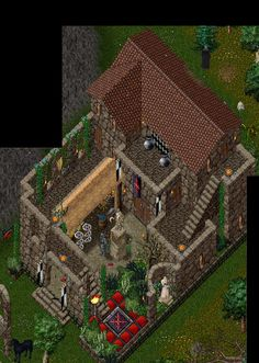 One Of The Custom Houses Avaialble On The Renaissance Ultima Online Free Server Www