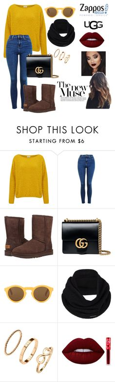 """""""The Icon Perfected: UGG Classic II Contest Entry"""" by beautybqueen on Polyvore featuring American Vintage, Topshop, UGG Australia, Gucci, CÉLINE, prAna, H&M, Lime Crime, ugg and contestentry"""