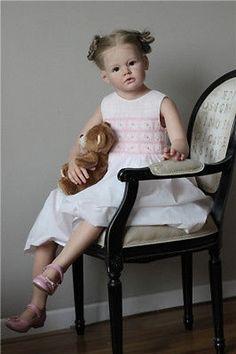 Reborn Doll Kit Angelica by Master Artist Reva Schick