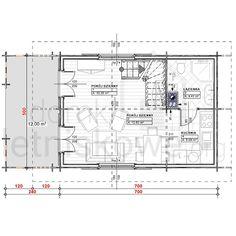 Drewniany domek letniskowy Alicja 62 + 18 m2 House Plans, Floor Plans, House Design, How To Plan, Country, Rural Area, Country Music, House Floor Plans, Architecture Design