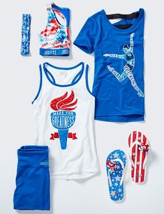 Justice Olympic clothing for girls