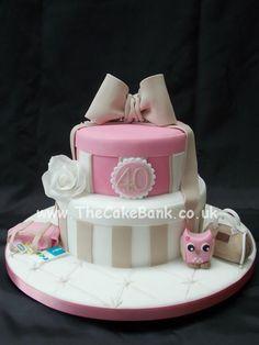 Open Hat Box Cake Tutorial
