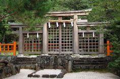 桧原神社の三輪鳥居