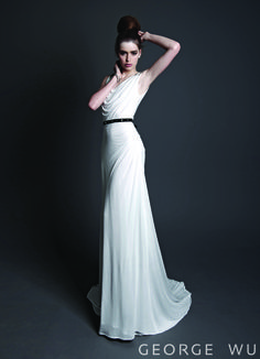 Pancrazio Dress. Made in Australia.  Repin for your own #wedding #inspiration.  #bridal #couture #design #gowns