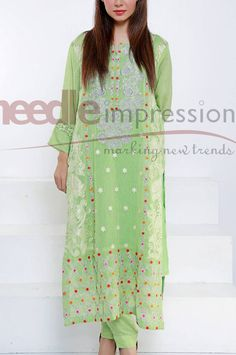 Buy Embroidered Chiffon Dress by Chiffon Eid Collection 2015.