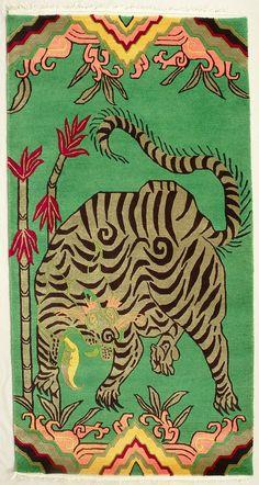 TIBETIAN TIGER CARPETS | tibetan-tiger-rugs6