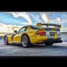 REPOST!!!  Childhood dream car  #dodge #viper #dodgeviper #gts #ferrari #lambo #mercedes #cls #audi #bugatti #porsche #porsche911 #mustang #charger #hemi #hellcat #vipergts #supercar #supercars #dragrace #driveby #streetcar #horsepower #v10 #v12 #v8 #speedracer #0to60 #fastcars #dreamcars  repost   credit: ID @watchswagg (Instagram)
