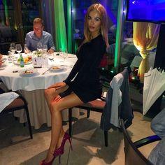 trotsko_masha @trotsko_masha   Websta Girly Outfits, Classy Outfits, Masha Trotsko, Hot High Heels, Great Legs, Elegant Outfit, Dress Me Up, Skater Skirt, Mini Skirts