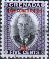 Grenada 1951 New Constitution Set Fine Mint Other Grenada Stamps HERE