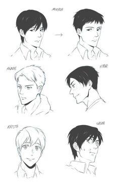 AoT genderbent Krista sieht aus wie Armin  Mikasa wie Berthold  Annie wie Reiner  Ymir wie Marko  Und Sascha ust einfach Sascha