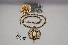 Soutache necklace Soutache pendant Soutache jewelry