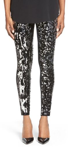 Sparkle leggings. YES!
