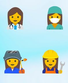 """Google has proposed adding 13 new female emoji that """"better reflect the pivotal roles women play in the world."""""""