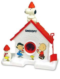 Snoopy snow cones!
