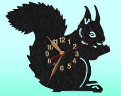 Angeln Fisher Wanduhr personalisierte hölzerne Uhr