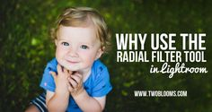 using the radial filter tool Lightroom