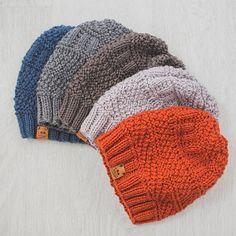 Mens Knit Beanie, Knit Hat For Men, Slouchy Beanie, Hats For Men, Beanie Hats, Hat Men, Man Hats, Fedora Hat, Crochet Blanket Patterns