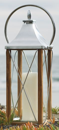 Whether by landscaping or seaside, our Seville Lanterns bring classic warmth to outdoor spaces.