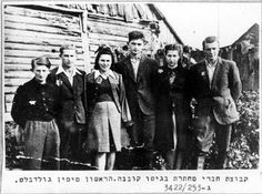 Kaunas, Lithuania, Members of the Jewish Underground in the Ghetto