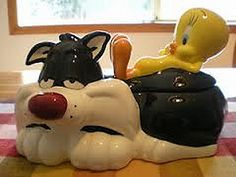 Sylvester & Tweety Cookie Jar