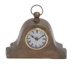 Tambour Style Table Clock