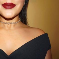 Amp up the drama of any ensemble with this glossy crystal choker necklace. For an ultra luxe, feminine feel, style with lace or deep hues. Fall Wedding Attire, Shay Mitchell, Crystal Choker, Bartender, Drama, Chokers, Feminine, Deep, Crystals