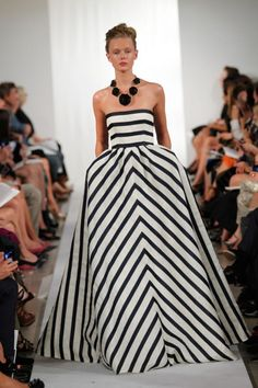 black and white stripes. all you ever need.