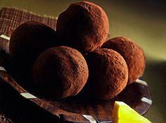 Tartufi cioccolato e arancia