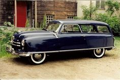 1951 Nash Rambler Station Wagon [pr] Maintenance of old vehicles: the material for new cogs/casters/gears/pads could be cast polyamide which I (Cast polyamide) can produce