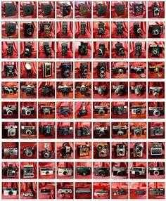 Collezione fotocamere antiche