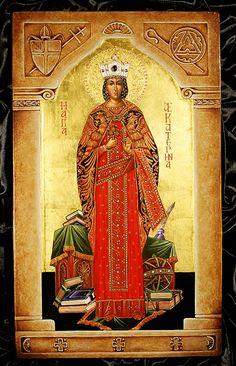 Hagia_Aekatarina > holy, ever pure one, Catherine