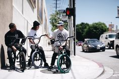 Xavier Wulf, Bradon Begin, Stevie Churchill BMX ONSOMESHIT John Hicks