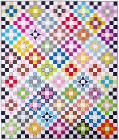 Scrappy Day Trip Quilt Pattern (PDF FILE) / Red Pepper Quilts