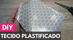 Como plastificar/impermeabilizar tecidos |DIY - Faça você mesmo