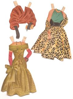 Dinah Shore free paper dolls with lots of outfits from the 50's. Description from pinterest.com. I searched for this on bing.com/images