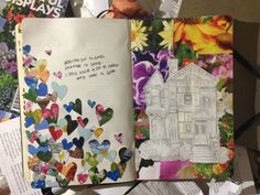 Love the journaling, yo!  Koi Pond (childofthemountains: Art journal!  Quote on...)